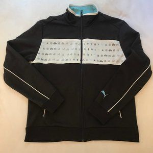Puma Mens Space Invaders Track Jacket (Size M)